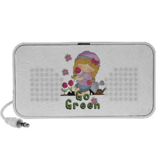 Go Green Garden Mini Speakers