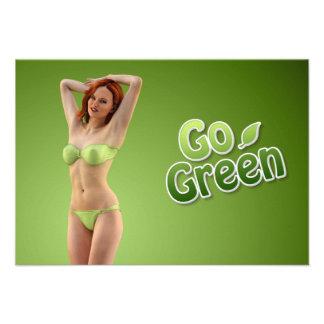 Go Green Girl Belle Announcement