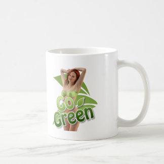 Go Green Girl Belle Coffee Mugs