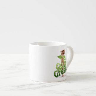 Go Green Girl Belle Espresso Mugs