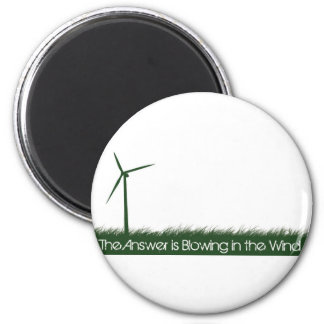 Go Green, Go Clean, Go Renewable Magnet