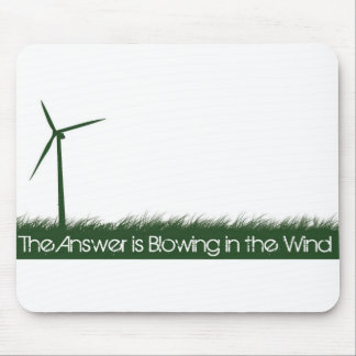 Go Green, Go Clean, Go Renewable Mouse Pad