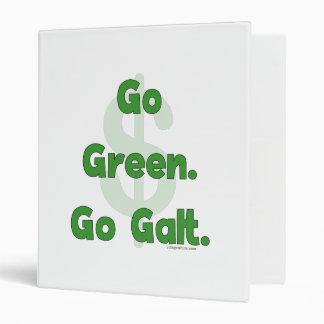 Go Green Go Galt 3 Ring Binder