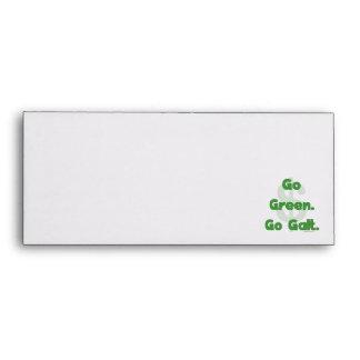 Go Green Go Galt Envelopes