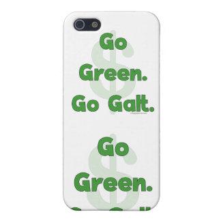 Go Green Go Galt iPhone 5 Cover