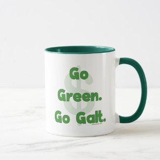 Go Green Go Galt Mug