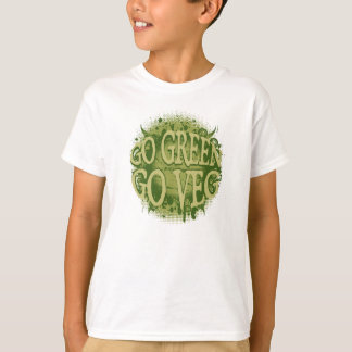 Go Green, Go Veg T-Shirt