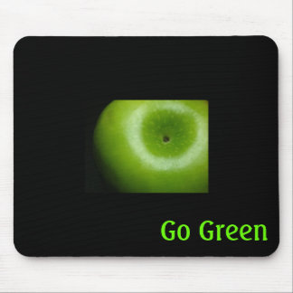 Go Green ~ Granny Smith Apple Mouse Pad