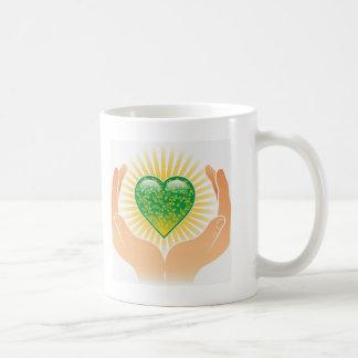 Go Green Hands Mugs