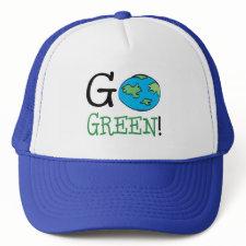 Go Green zazzle_hat