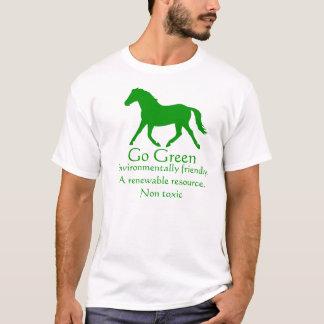 Go Green horse - non toxic T-Shirt