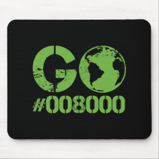 Go Green HTML RGB Mouse Pad