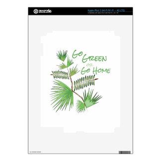 Go Green iPad 3 Decal