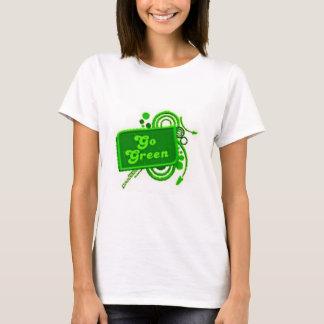 Go Green Irish Tshirt