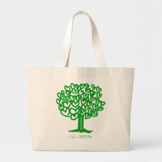 Go Green Jumbo Tote Bag