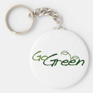 Go Green Key Chains