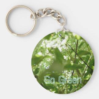Go Green Keychain