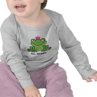 Go Green Kiss a Frog Tees