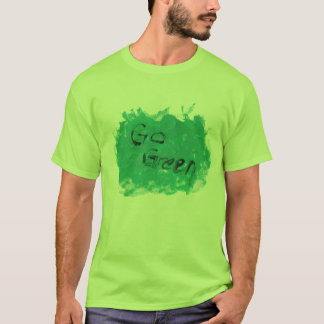 Go Green Large copy T-Shirt