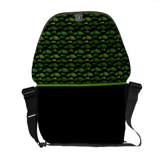 Go Green Leafy Eco Bag Messenger Bags