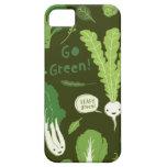 Go Green! (Leafy Green!) Happy Healthy Veggies iPhone 5 Case