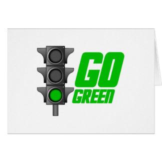Go Green Light Card