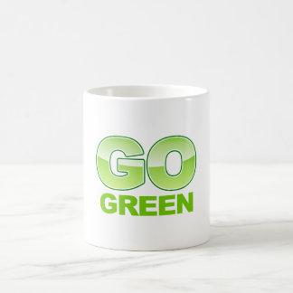 Go Green Logo Coffee Mug
