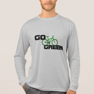 Go Green - Long Sleeve Bike T Shirt
