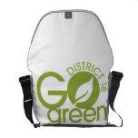 Go Green Messenger Bags