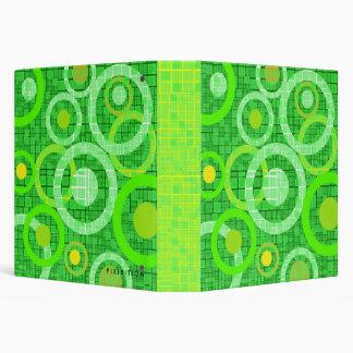 Go Green Mosaic Circle Avery Binder