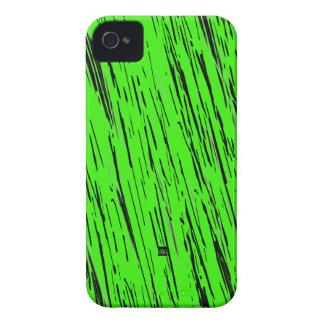 Go Green Neon Scratch iPhone 4 ID Case