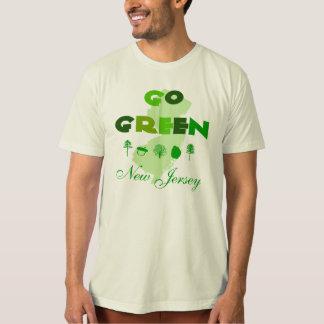 Go Green New Jersey Organic T-Shirt