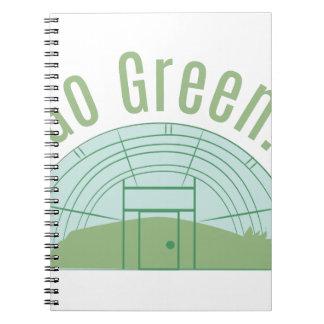 Go Green! Notebook