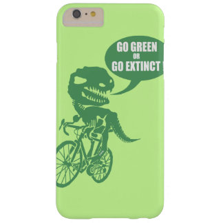 Go green or go extinct barely there iPhone 6 plus case