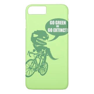 Go green or go extinct iPhone 8 plus/7 plus case