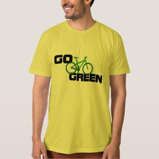 Go Green - Organic Bicycle T Shirt