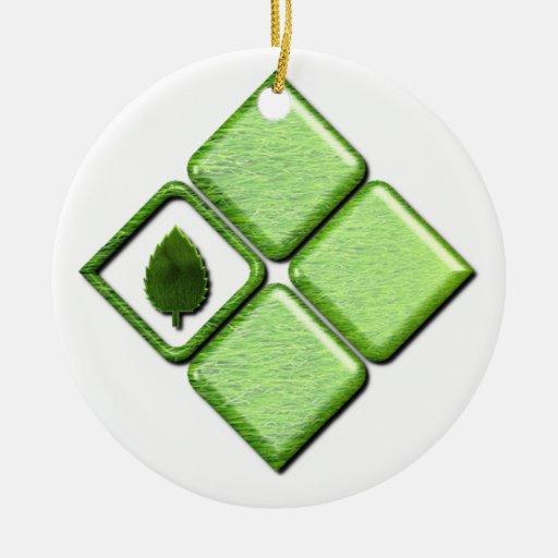 Go Green Ornament