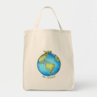 Go Green! - Peace on Earth Bags