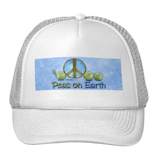 Go Green! - Peace on Earth hat