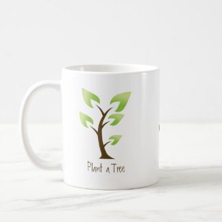 Go Green.  Plant a Tree. Save the Planet Coffee Mug