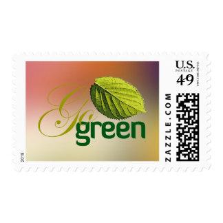 Go Green Postage