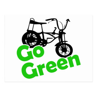 go green postcard