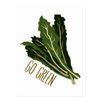 Go Green Postcards