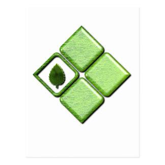 Go Green Post Card