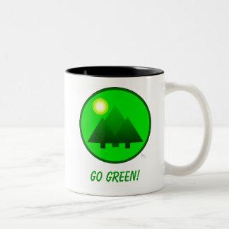 GO GREEN! Protect the Environment Mug