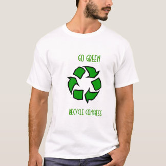 Go Green Recycle Congress T-Shirt