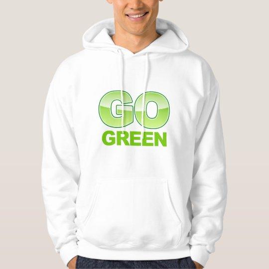 Go Green Recycle Gradient Hoodie