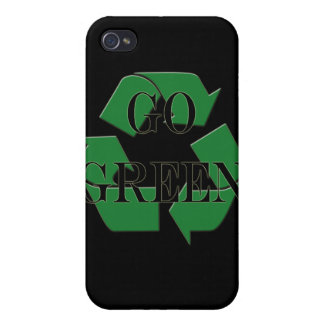 Go Green Recycle Iphone 4 Case Speck Cell Phone