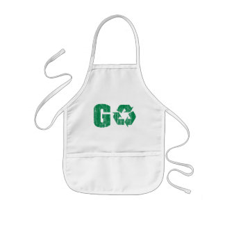 Go Green Recycle Kids' Apron