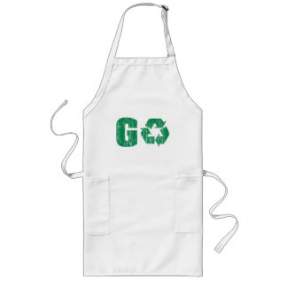 Go Green Recycle Long Apron